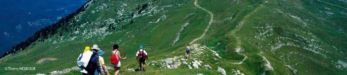 Randonnée du Rhône au Crêtes en Bugey Sud