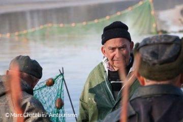 Pêche d'étang de la Dombes