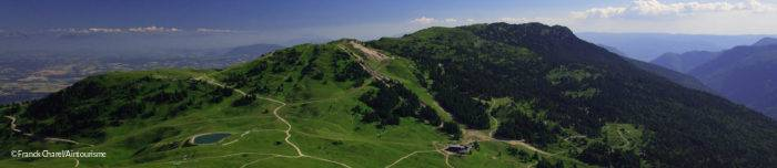 Bird's-eye view of Monts Jura