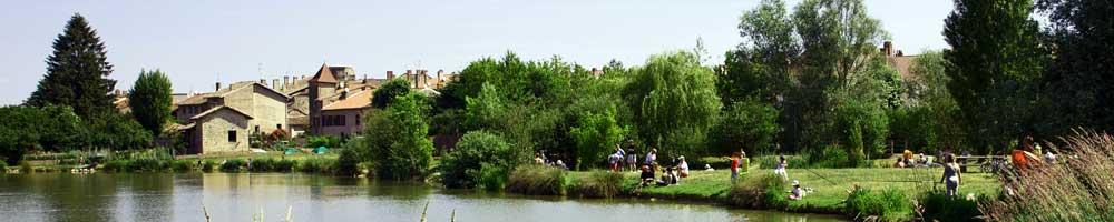 Pêche au plan d'eau du Camping Champ d'été de Pont-de-Vaux