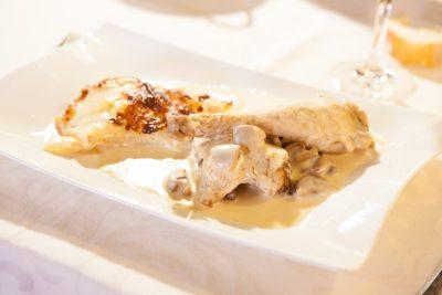 Restaurant l'Ecu d'or a Villars les Dombes, Ain.
