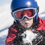 enfant au ski
