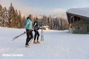 Ski nordique à La Vattay