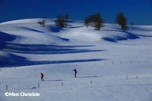 Ski de fond sur le plateau de Retord