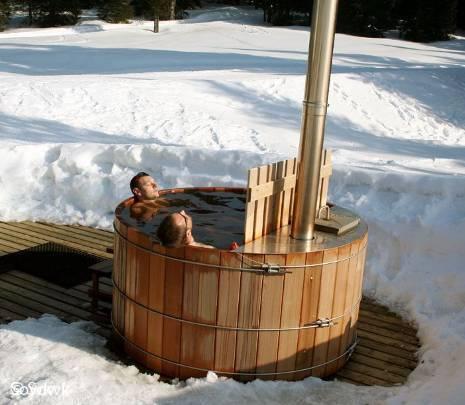 Espace bien etre sauna Auberge La Praille Hauteville Lompne