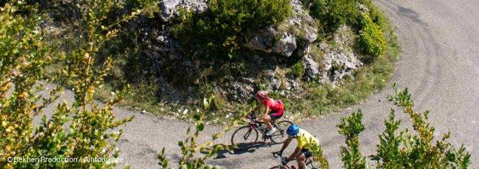 Col montee grand colombier velo