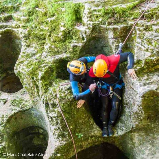guide de canyoning