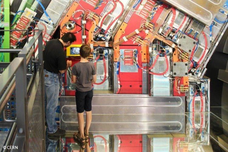 visite des expériences au CERN