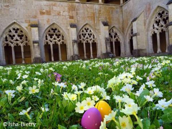 Chasse aux oeufs à l'Abbaye d'Ambronay