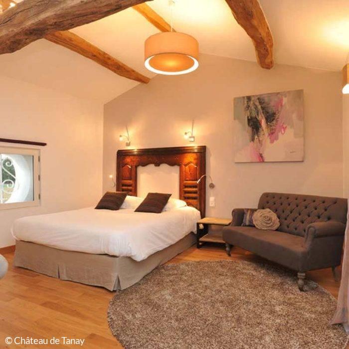 Chambre du Château de Tanay