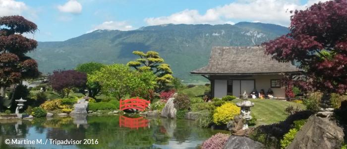 Jardin Au Paradiz'en à Chatillon-en-Michaille