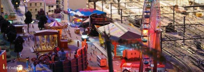 Musée du Train miniature, Spectacle à Chatillon-sur-Chalaronne