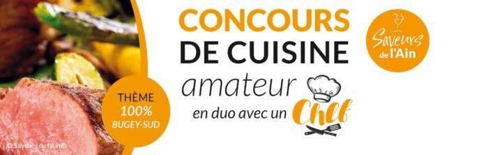 Concours Cuisine amateur en duo avec un chef