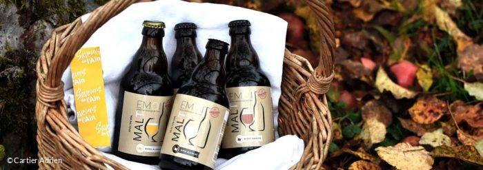 bieres artisanales de l'ain : brasserie malt emoi