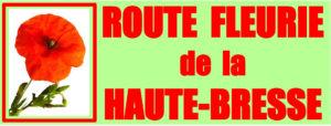Route fleurie de la HAUTE BRESSE