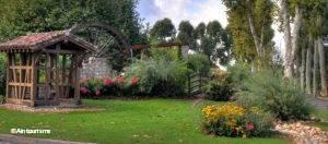 Village de Vonnas : 4 fleurs