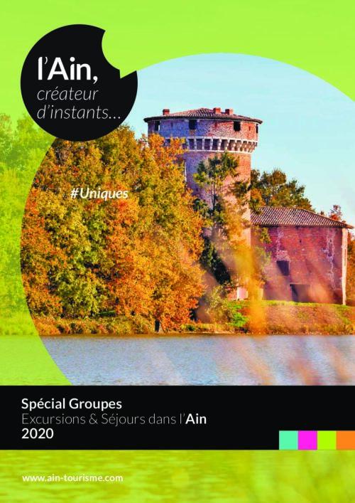 Brochure groupes 2020 : excursion et séjour dans l'Ain