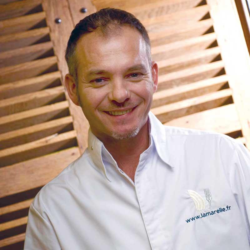 Didier Goiffon, chef du restaurant La Huchette à Replonges