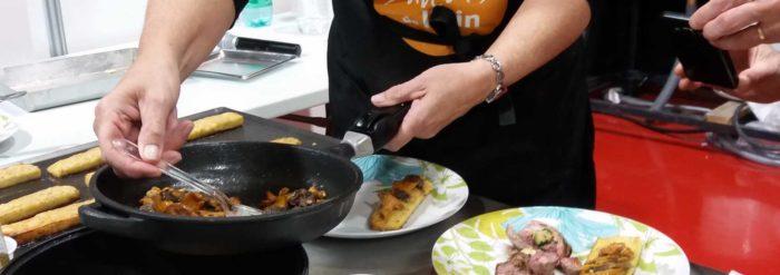 Recette Saveurs de l'Ain : Agneau Gigotin Comté AOP et noix