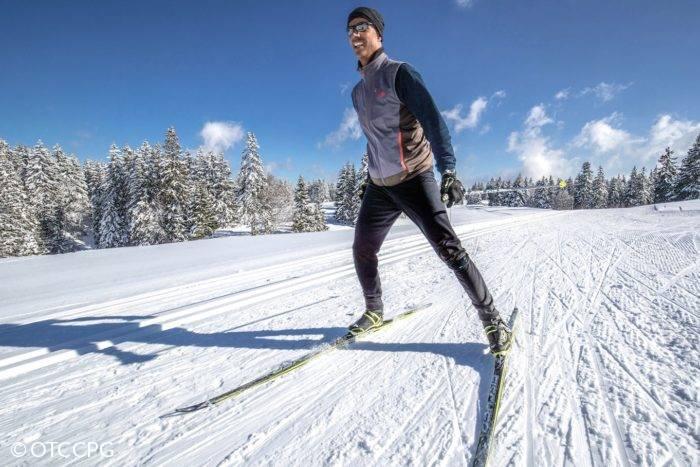 skieur nordique La Vattay