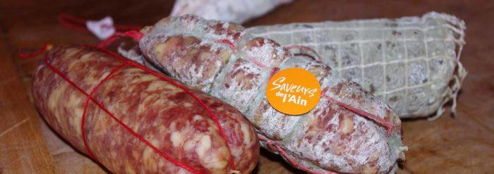 Charcuterie, saucissons de l'Ain et coppa de Meillonnas : boucherie Marion