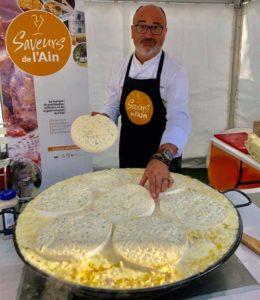 Bressanette, recette du Restaurant Duverger à Saint-Paul-de-Varax par le chef Franck Sucillon
