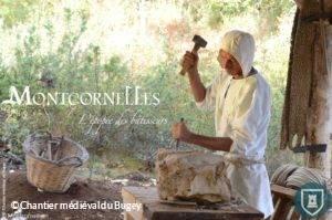 Montcornelles : village médieval à Aranc