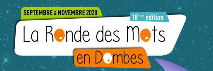 Festival La Ronde des mots en dombes de septembre à novembre 2020 à chatillon sur chalaronne