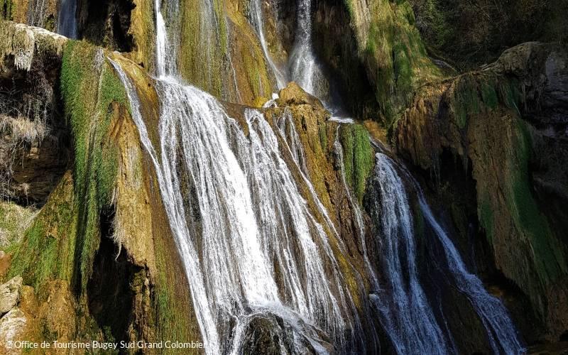 Cascade de Glandieu - ain-tourisme.com