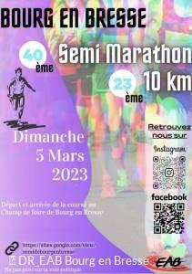 Semi-marathon et 10 km de Bourg-en-Bresse