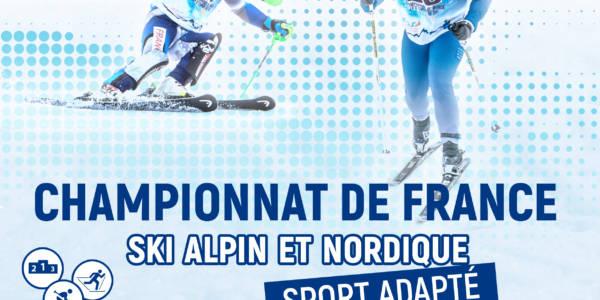 Championnats de France de Ski alpin et nordique Sport Adapté