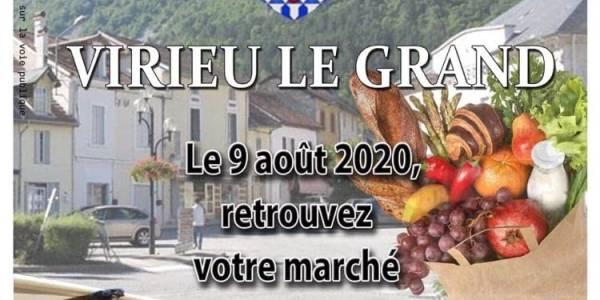 Marché de Virieu-le-Grand