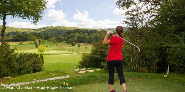 Cours de golf à thème au Golf du Haut-Bugey